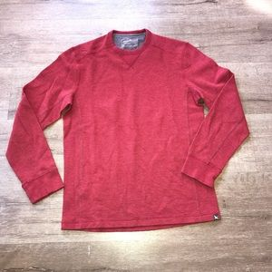Men's red Sz S Eddie Bauer Long Sleeve Thermal